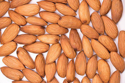 Almond, Background, Badam, Calories