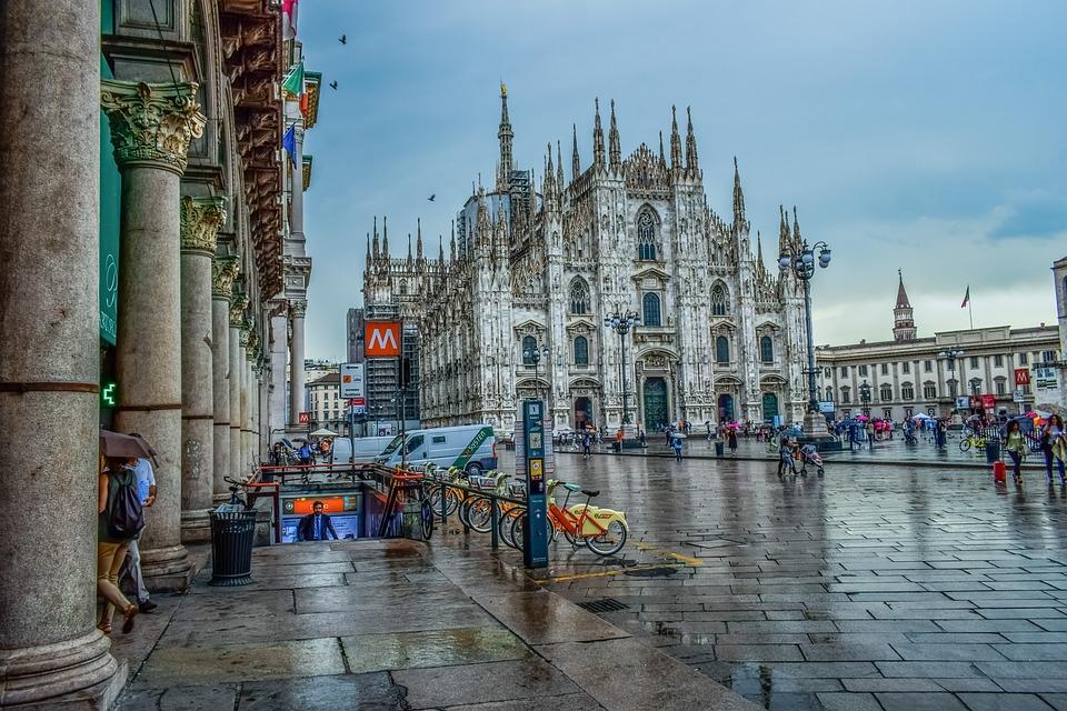 Italy Milano Duomo Square Free Photo On Pixabay