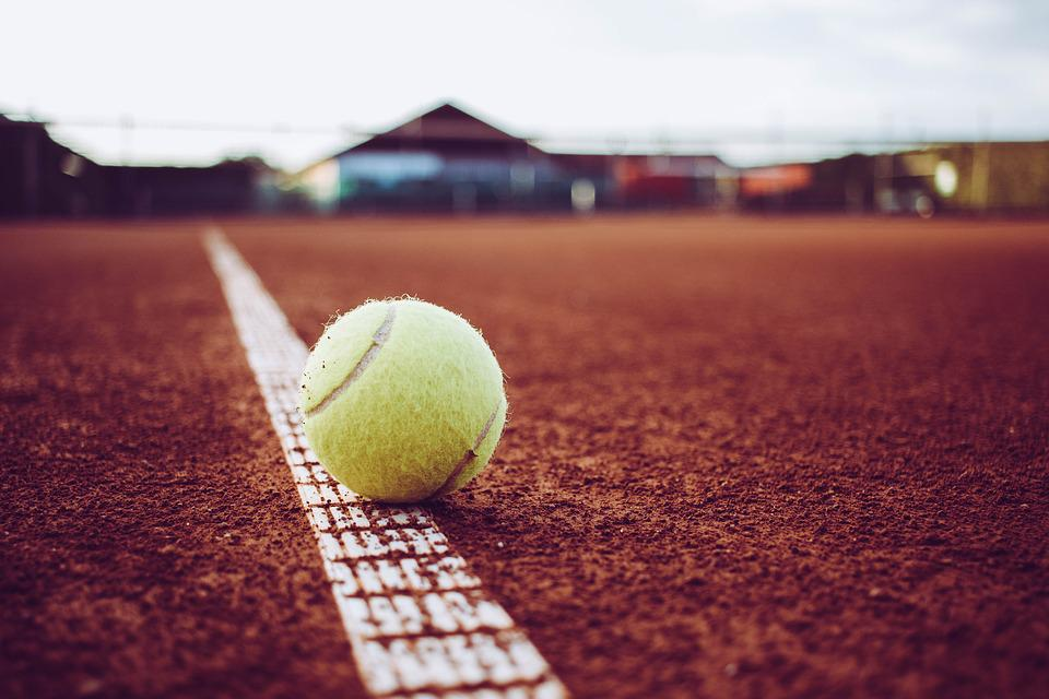 Tennis, Sand, Sport, Space, Tennis Court, Line