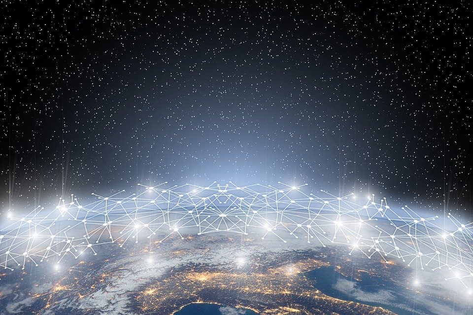 Network, Earth, Block Chain, Globe, Digitization