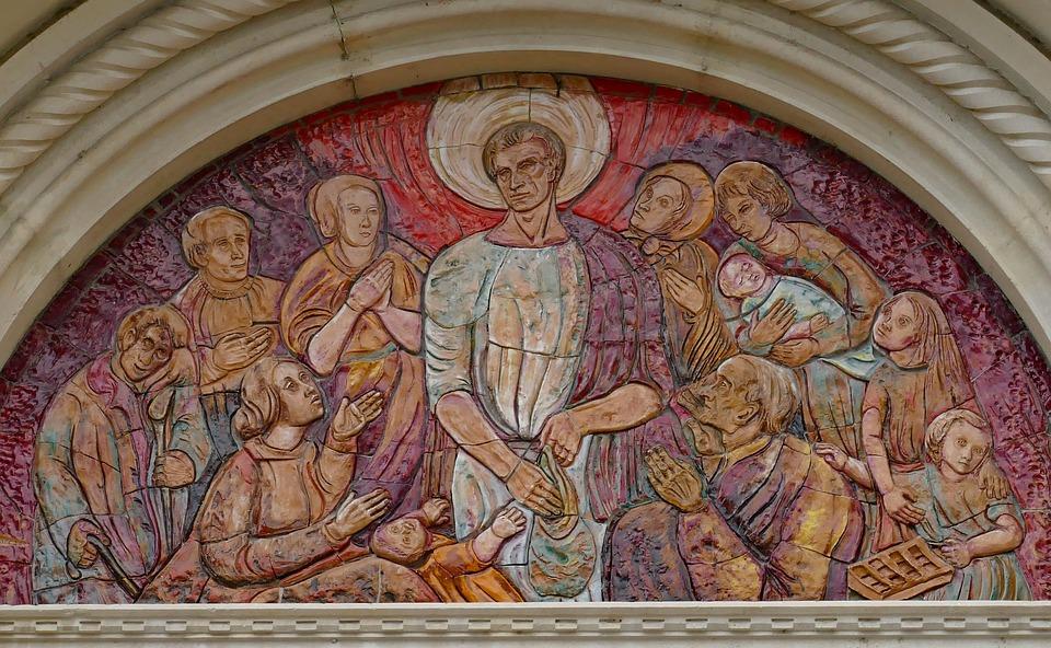 Group Of People, Not, Help, Shepherd, Hunger, Suffering
