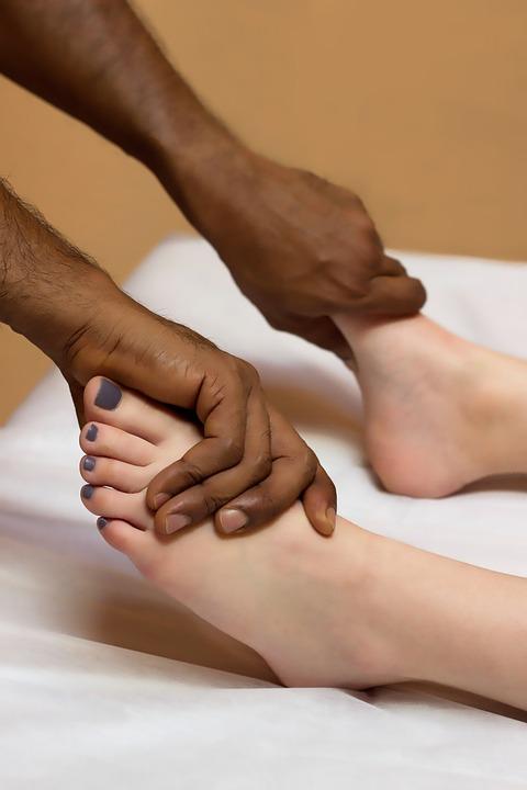 Voetmassage, Massage, Wellness, Voeten, Lichaam
