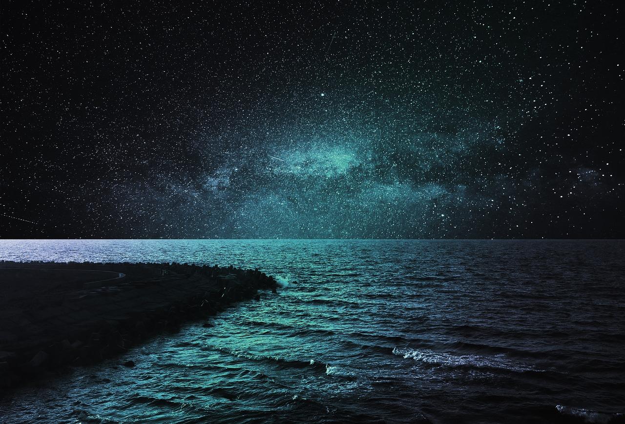длина картинка ночное море и звезды пущего эффекта животное