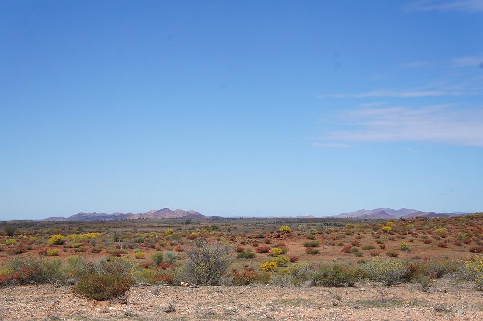 Désert Australien, L'Outback De L'Australie, Paysage