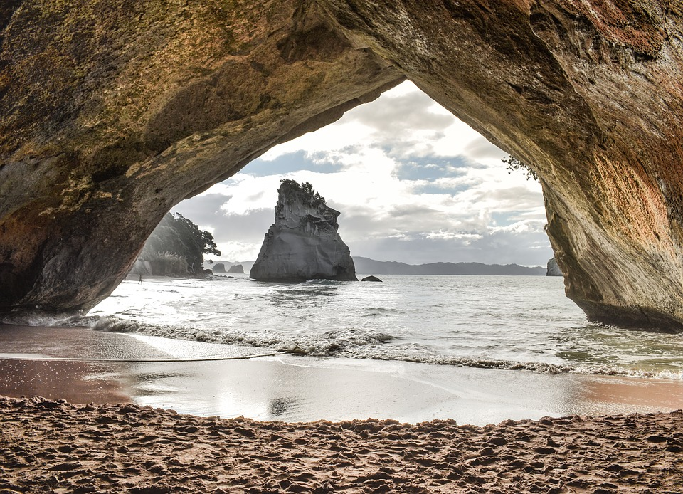 The Cathedral Cove - New Zealand
