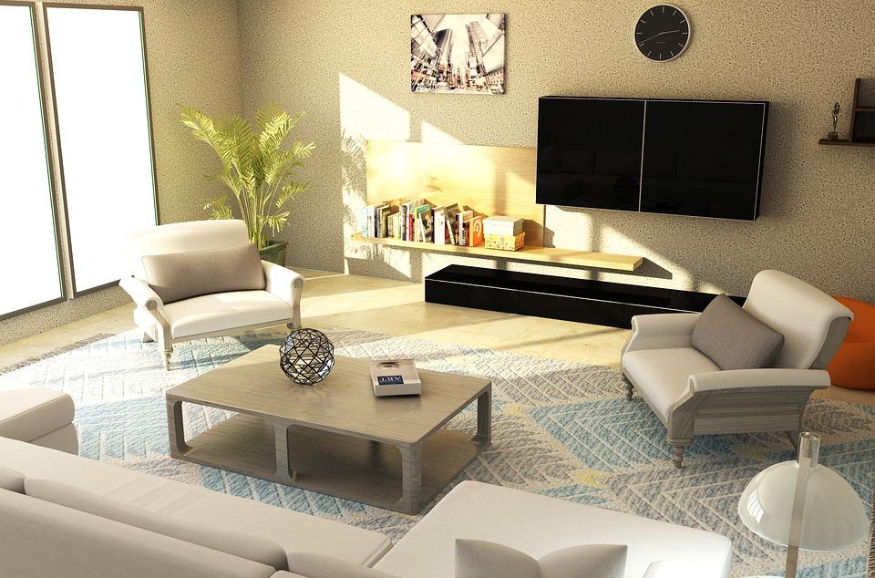 Modern Interieur Living : Interior living room furniture free image on pixabay