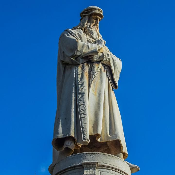 Leonardo da Vince was dyslexic, and he often wrote backwards