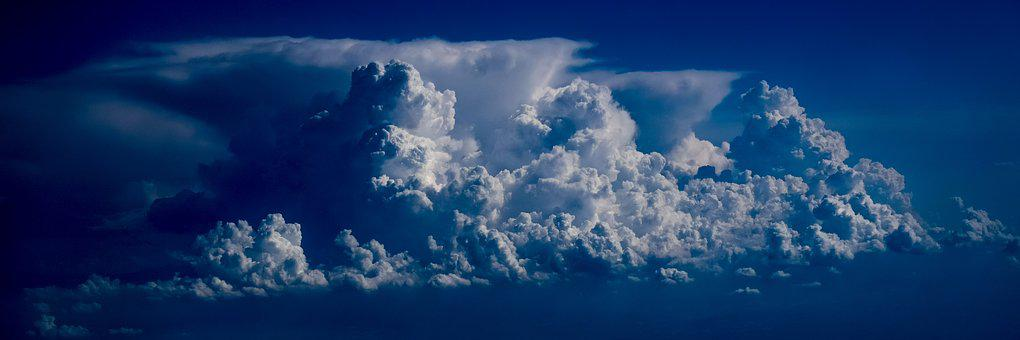 Clouds, Sky, Dramatic, Air, Atmosphere