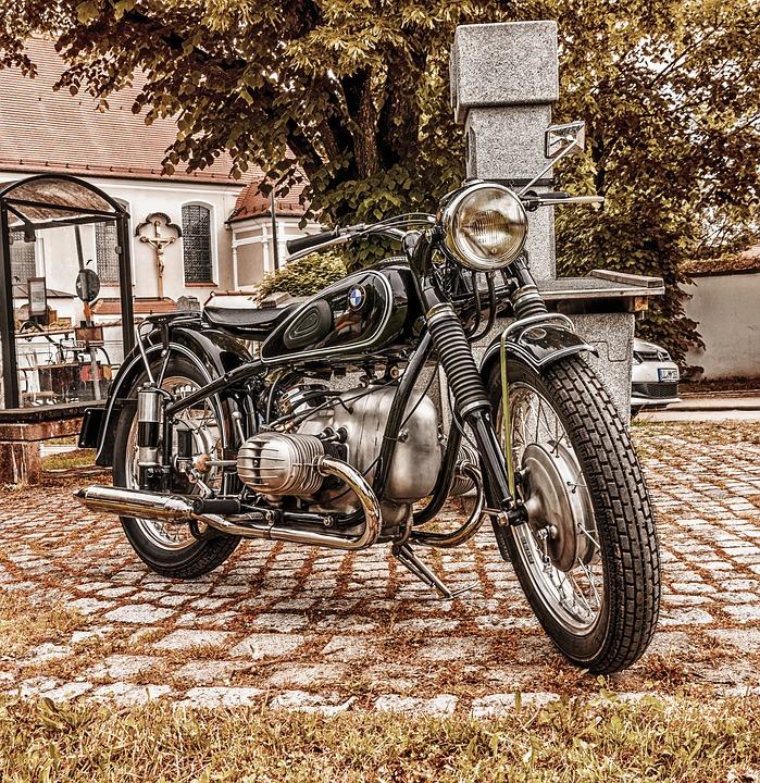 Motorbike Bmw Vintage Free Photo On Pixabay