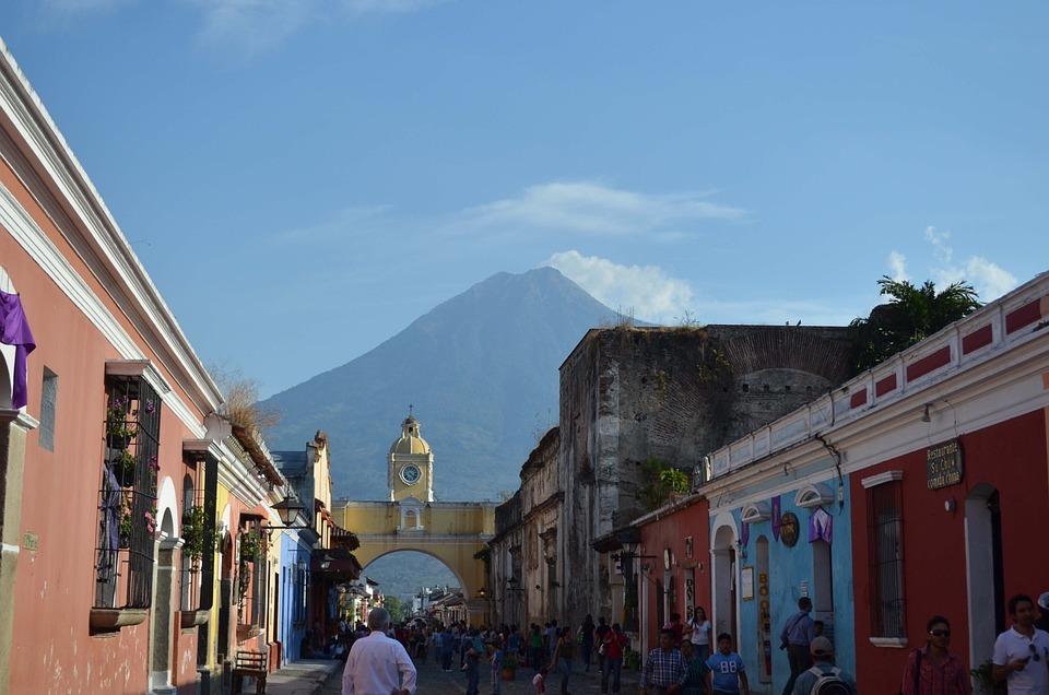 Antigua Guatemala, Kolonialne Miasto, Gwatemala