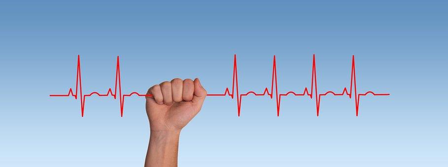 Pulse, Frequency, Heartbeat, Heart