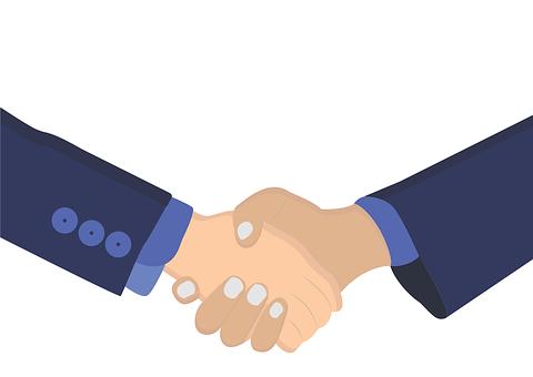 ハンドシェイク, ビジネス, 企業, パートナーシップ, 会議