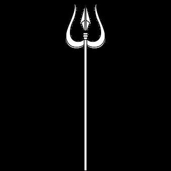 Graphic, Trident, Shiva, God, Hindu