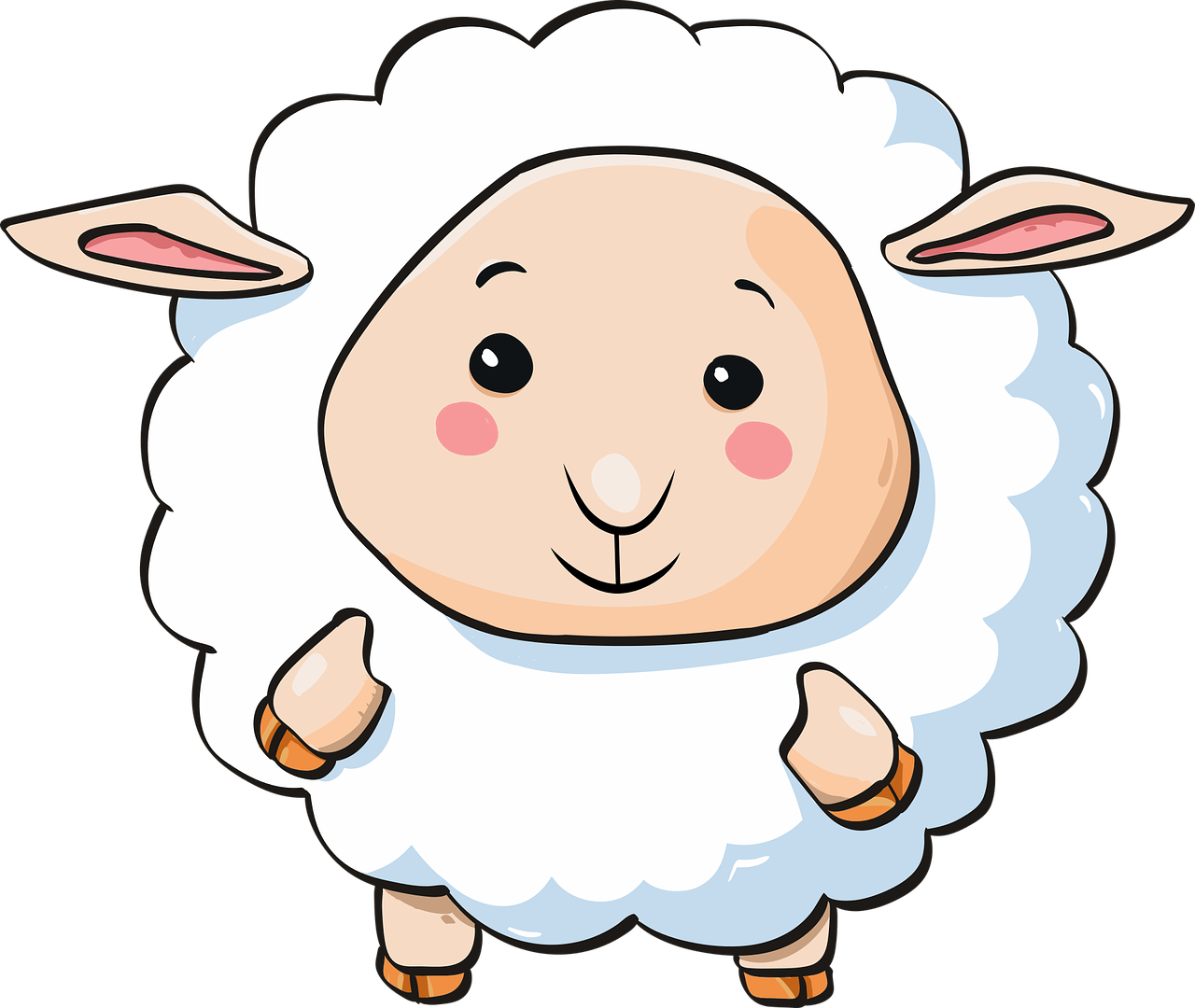 был картинки мультяшного овечки запущенных случаях липома