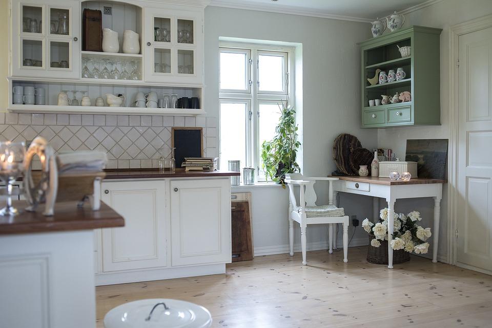 Bookcase, Kitchen, Surface, Furniture, Shelving