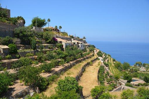 Mallorca und die Trockensteinbauten - Trockensteinterrassen in Banyalbufar