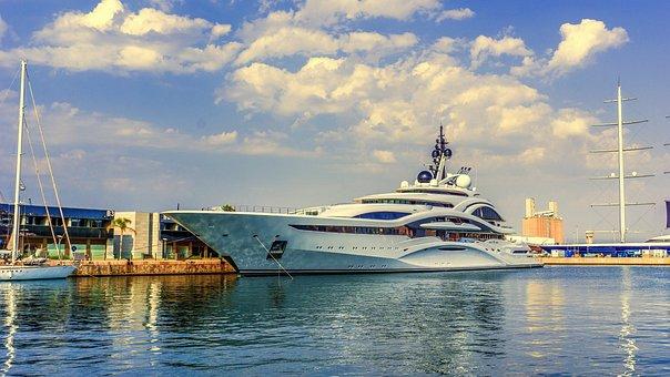 Boat, Yacht, Marina, Port, Ship