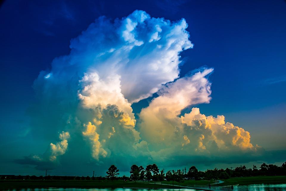Cumulonimbus, Chmury Cumulus, Meteorologia, Burza