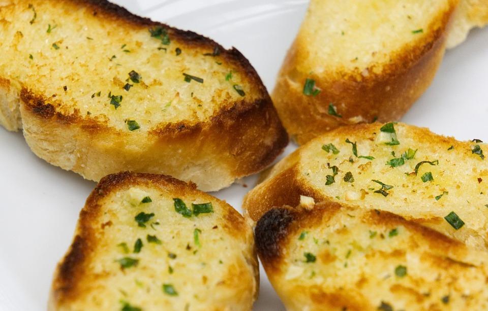 Bread, Baguette, Baked, Herbs, Butter, Herb Butter