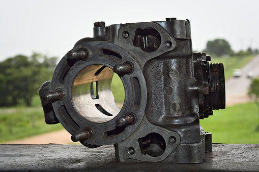 Engine, Two Stroke, Cylinder, Sleeve