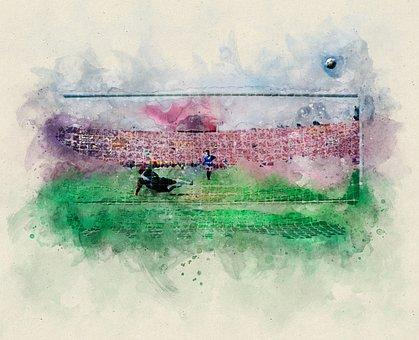 Soccer, Kicker, Goal, Sport, Footballers