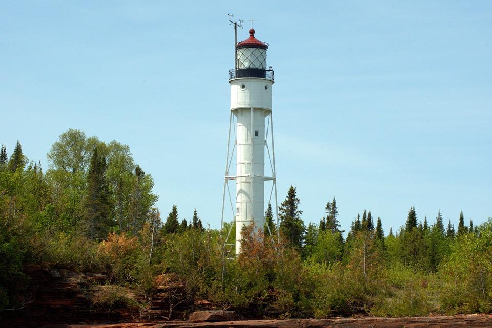Devils Island Lighthouse Wisconsin Free Photo On Pixabay