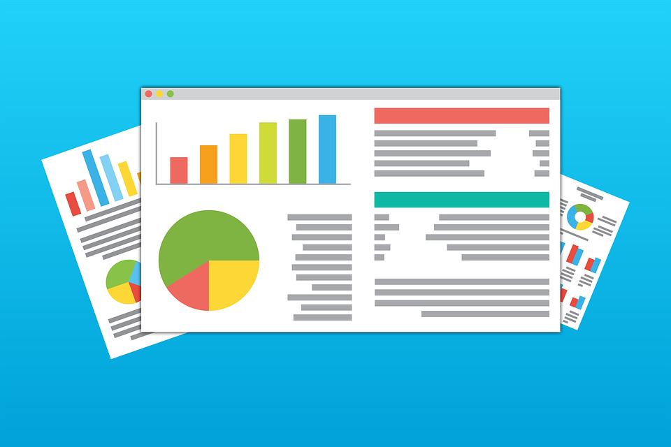 Online, Web, Statistics, Data, Illustrator, Digital