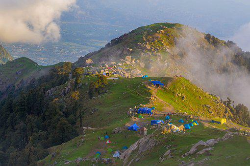 Triund, Himachal Pradesh, Triund Beauty