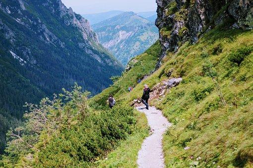 Tatry, Zakopane, Wycieczka, Szlak, Góry