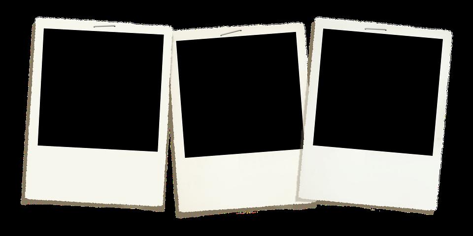polaroid template photo free image on pixabay