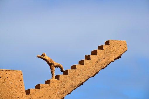 上昇, 成功, キャリア, 前方に来てください, ターゲット, 砂, 彫刻