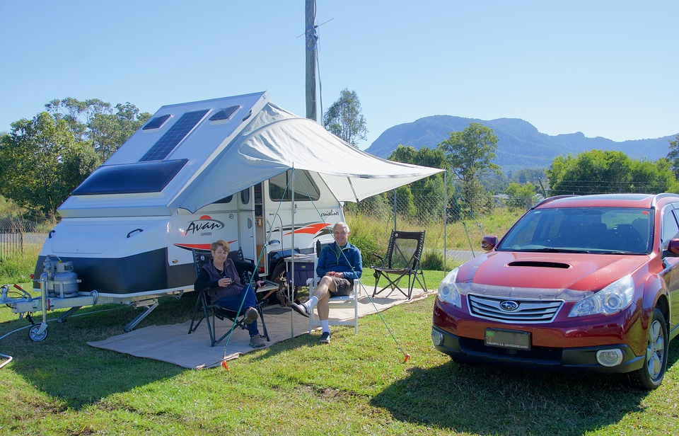 Camping, Husvagn, Koppla Av, Holiday, Släpvagn