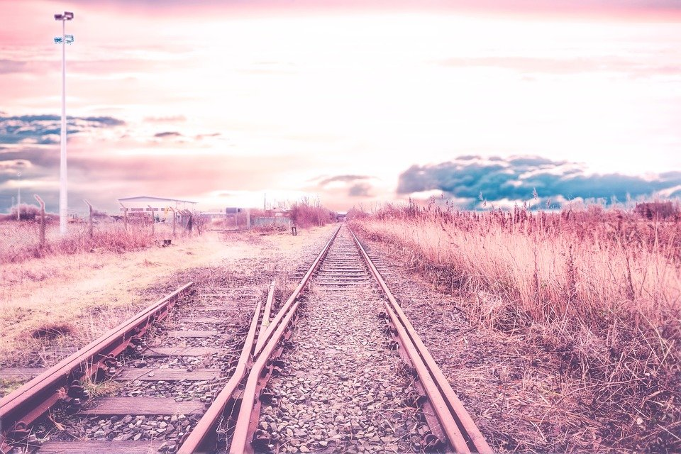 Railway Track, Nature, Railway, Track, Landscape