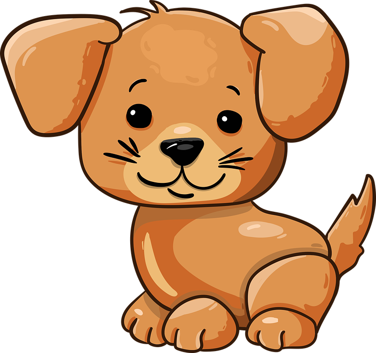Perro Cachorro Lindo Dibujos Gráficos Vectoriales Gratis En Pixabay
