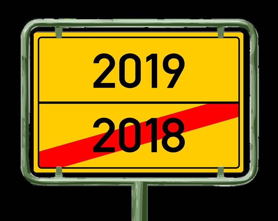 Jahreswechsel 2019 2018 Kostenloses Bild Auf Pixabay
