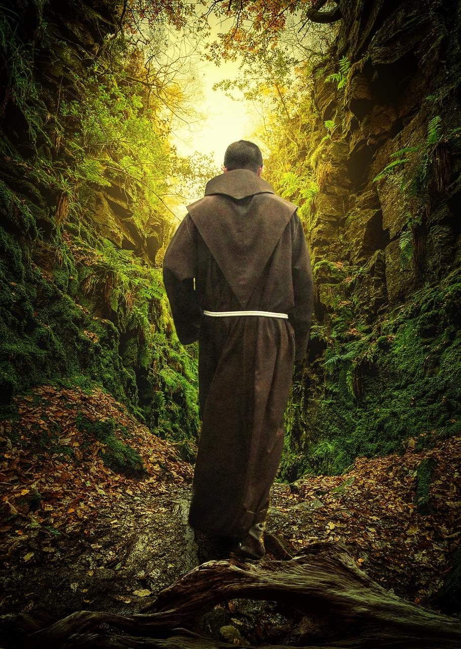 два путника монаха картинка
