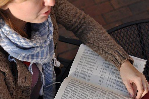 読み取り, 研究, 読書, 勉強