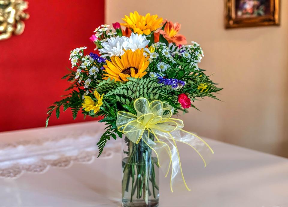 Bouquet De Flores Arreglo Floral Foto Gratis En Pixabay