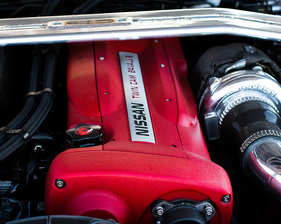 Engine, Car, Nissan, Modified, Rb26, Turbo, Vehicle