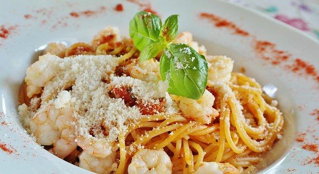 Spaghetti, Noodles, Tomatoes, Pasta