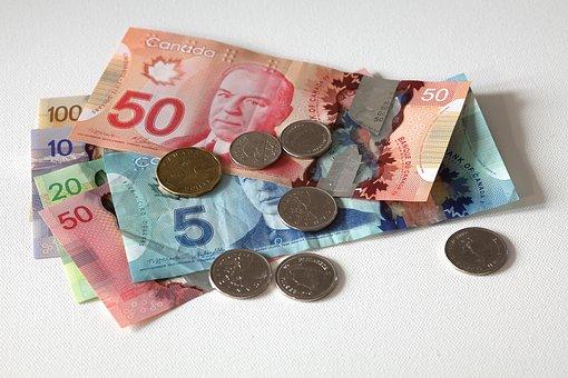Dollar, Canada, Entreprise, Finances