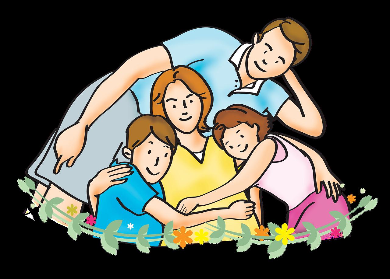 Моя, картинки о родителях и детях нарисованные