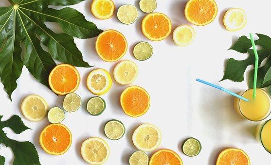 柑橘類, 果物, スライス, 夏, 祝賀会, ビタミン, 食品, ジューシーです