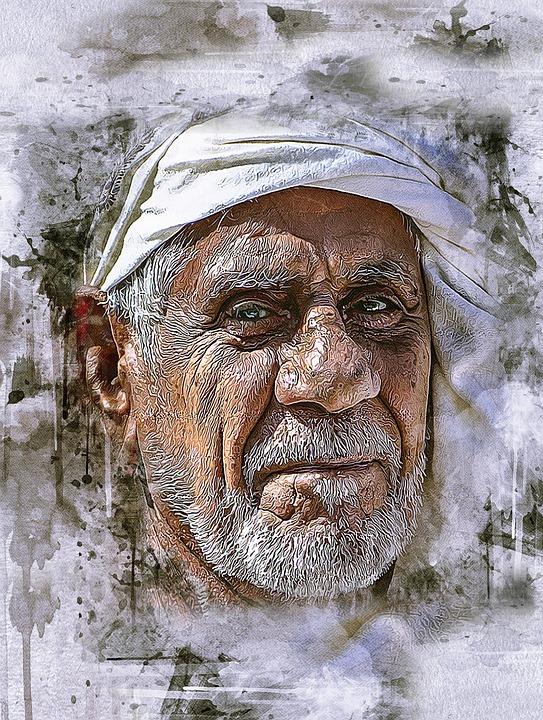 arabisk mand