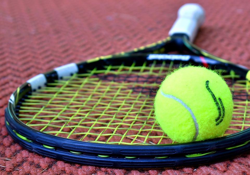 Tenis, Raketa, Tenisový Loptičku, Športové, Súd
