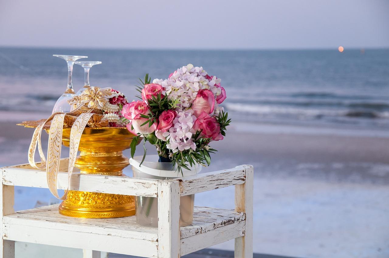 конце открытки цветы на берегу океана семейная жизнь хорошо
