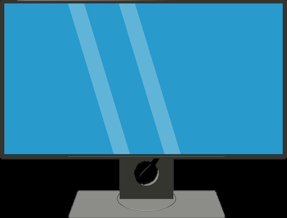 Smuk Pc-Skærm Computerskærm Skærm - Gratis vektor grafik på Pixabay ZS-84