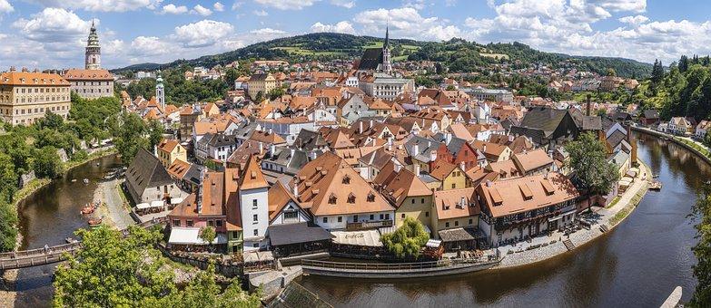 Český Krumlov, Bohemia, South Bohemia