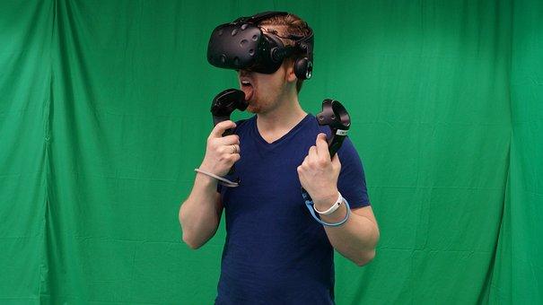 Vr, Realidad Virtual, Hombre, Tecnología