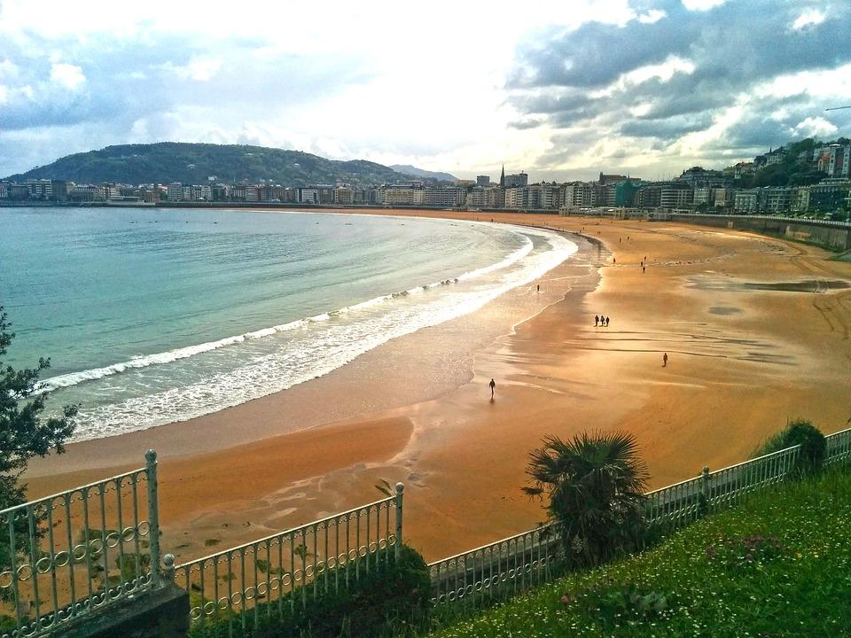 Playa El Sardinero, Santander, Tengeri, Fekvő, Beach